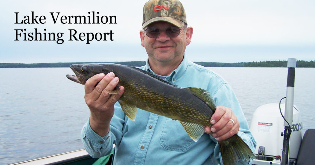 Lake vermilion fishing report east end for Lake vermilion fishing