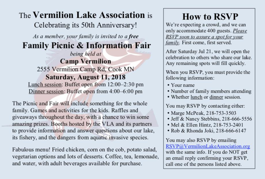 Member Family Picnic Invitation Flyer
